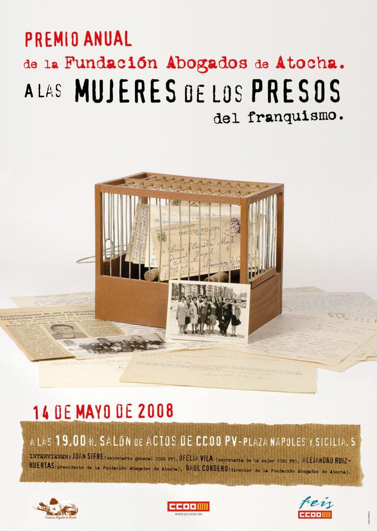 MUJERES DE LOS PRESOS DEL FRANQUISMO
